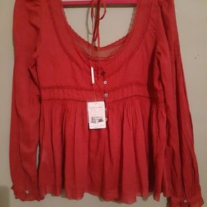 Free People womens blouse.